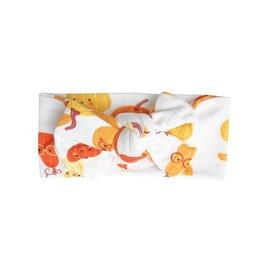 Angel Dear Orange Pumpkins Bamboo Headband