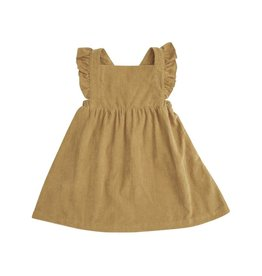 Angel Dear Honey Corduroy Pinafore Dress