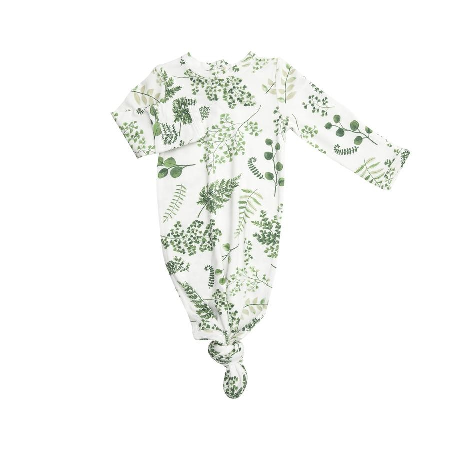 Angel Dear Ferns Bamboo Knotted Gown (0-3mo)