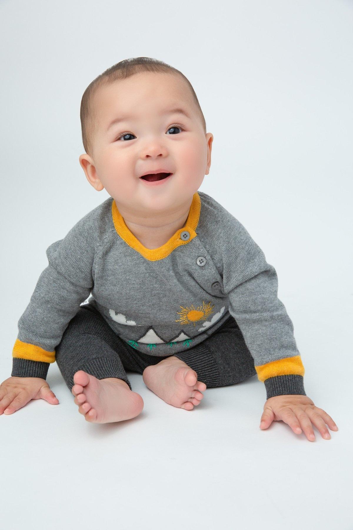 Angel Dear Mountain Sweater Set