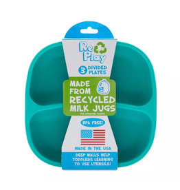 Re-Play Re-Play Divided Plates 3 Pack