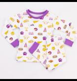 Nola Tawk Let's Go Tigers Organic Cotton Pajamas