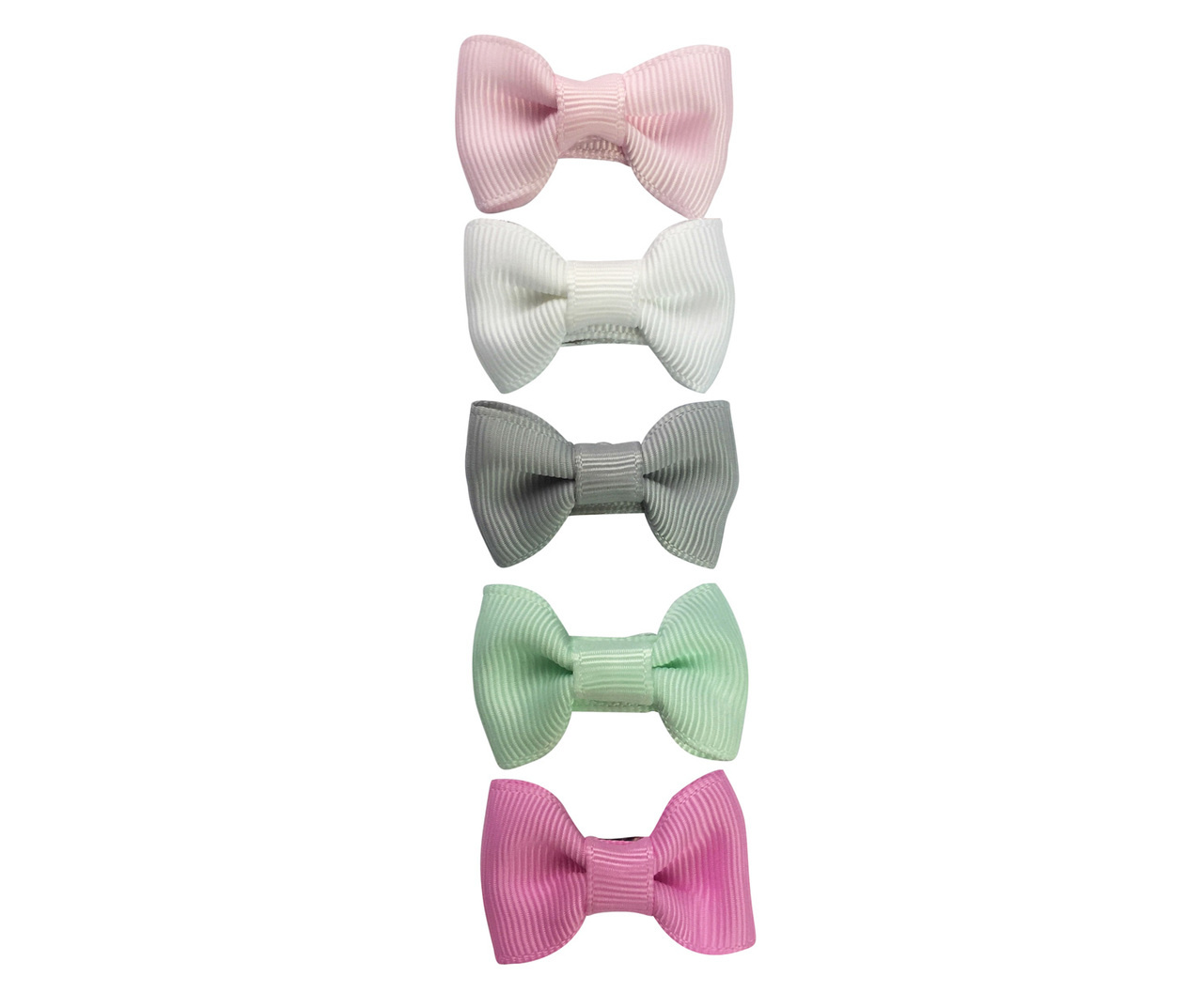 Baby Wisp Snap Clip 5 Piece Set - Charlotte Flowers in the Attic