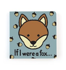 Jellycat If I Were a Fox- Touch and Feel Board Book