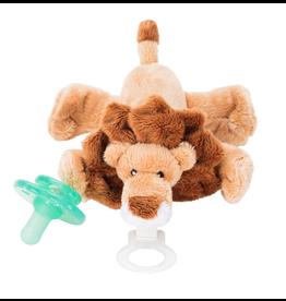 Nookums Leo Lion Plush Paci Buddy Pacifier Holder