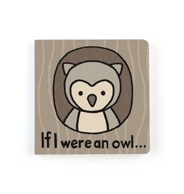 Jellycat If I Were an Owl - Touch and Feel Board Book