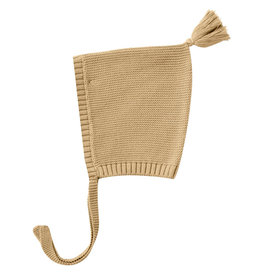 Quincy Mae Quincy Mae Honey Organic Knit Pixie Bonnet