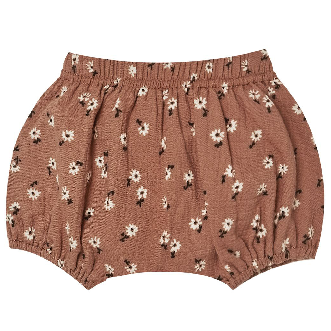 Quincy Mae Quincy Mae Clay Ditsy Organic Woven Bloomers