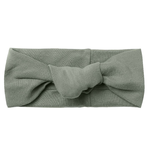 Quincy Mae Basil Knotted Headband