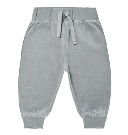 Quincy Mae Quincy Mae Organic Dusty Blue Relaxed Sweatpants