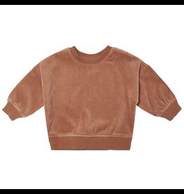 Quincy Mae Quincy Mae Organic Clay Drop Shoulder Sweatshirt