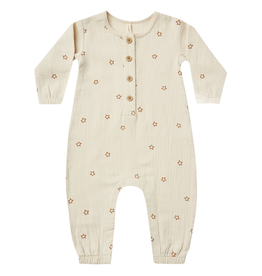 Quincy Mae Quincy Mae Stars Organic Woven Jumpsuit