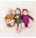 Kyte Baby Kyte Baby Long Sleeve Bodysuit - Nutmeg