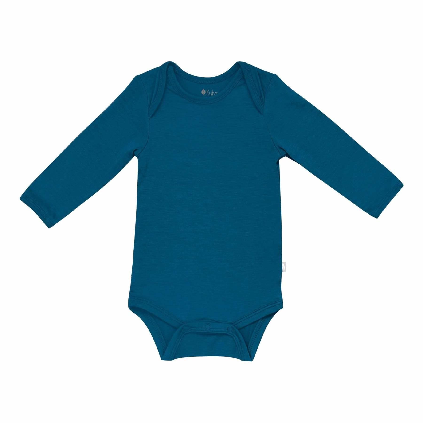 Kyte Baby Kyte Baby Long Sleeve Bodysuit - Baltic