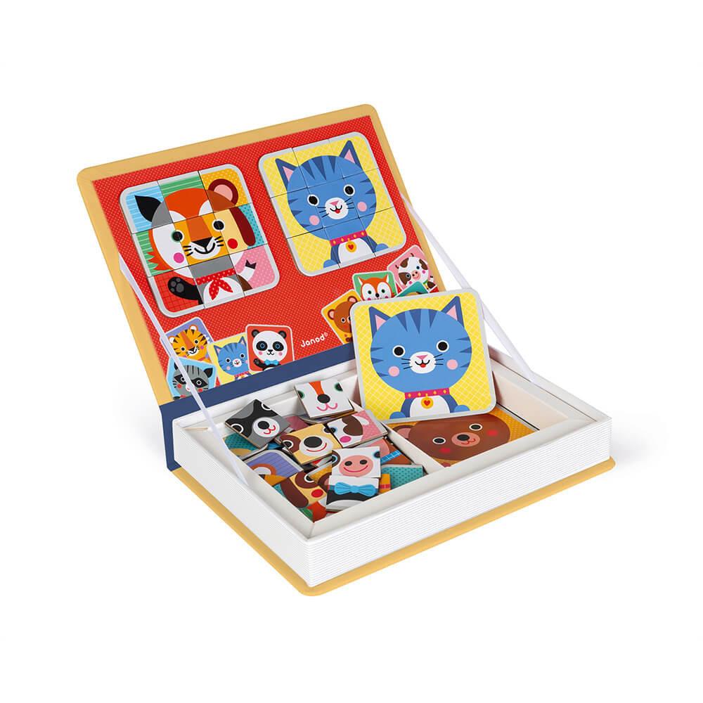 Janod Toys Mix & Match Magneti'book