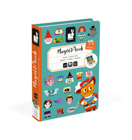 Janod Toys Fairy Tales Magneti'book