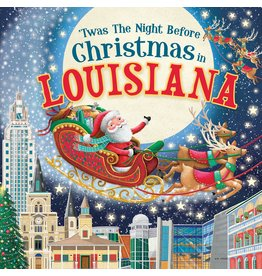 Books 'Twas the Night Before Christmas in Louisiana Book