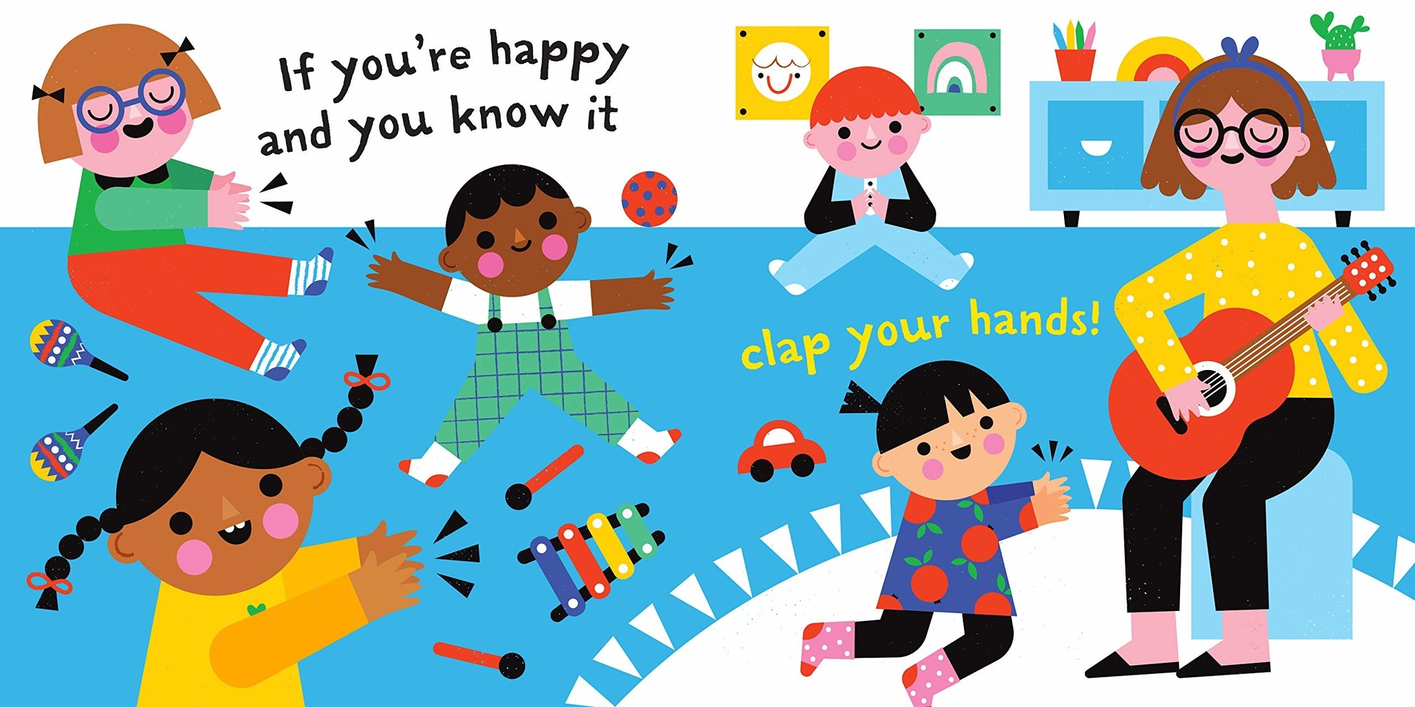 Indestructibles Baby Books Indestructibles: Happy and You Know It