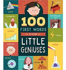Books 100 First Words for Little Geniuses Book