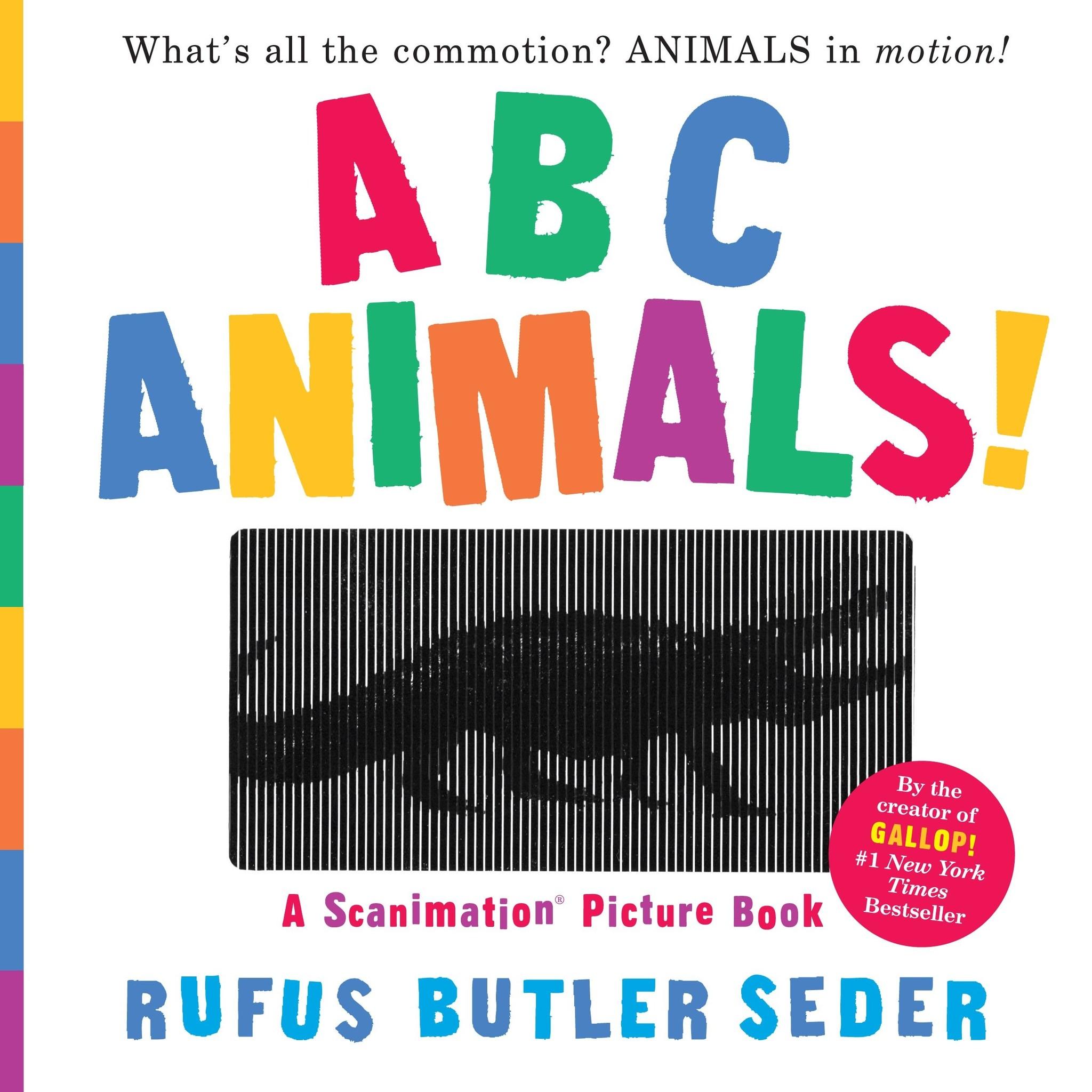 Books ABC Animals: A Scanimation Book