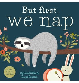 Books But First, We Nap Board Book