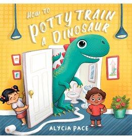 Books How to Potty Train a Dinosaur Board Book
