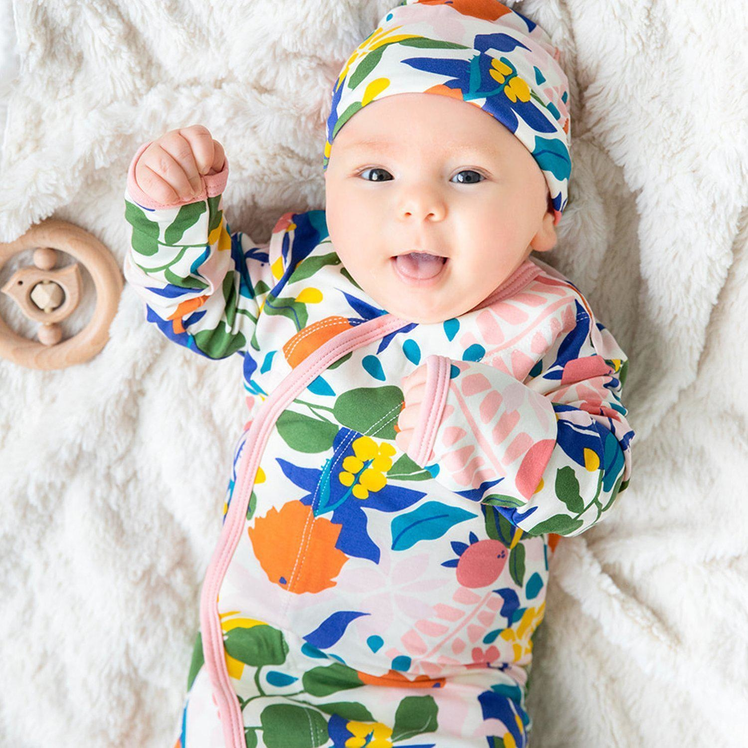 Magnetic Me Rayleigh Modal Magnetic Sack Gown & Hat Set (0-3 mo)