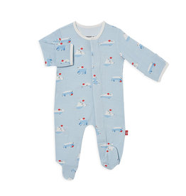 Magnetic Me Roly Poly Magnetic Modal Footie Pajamas