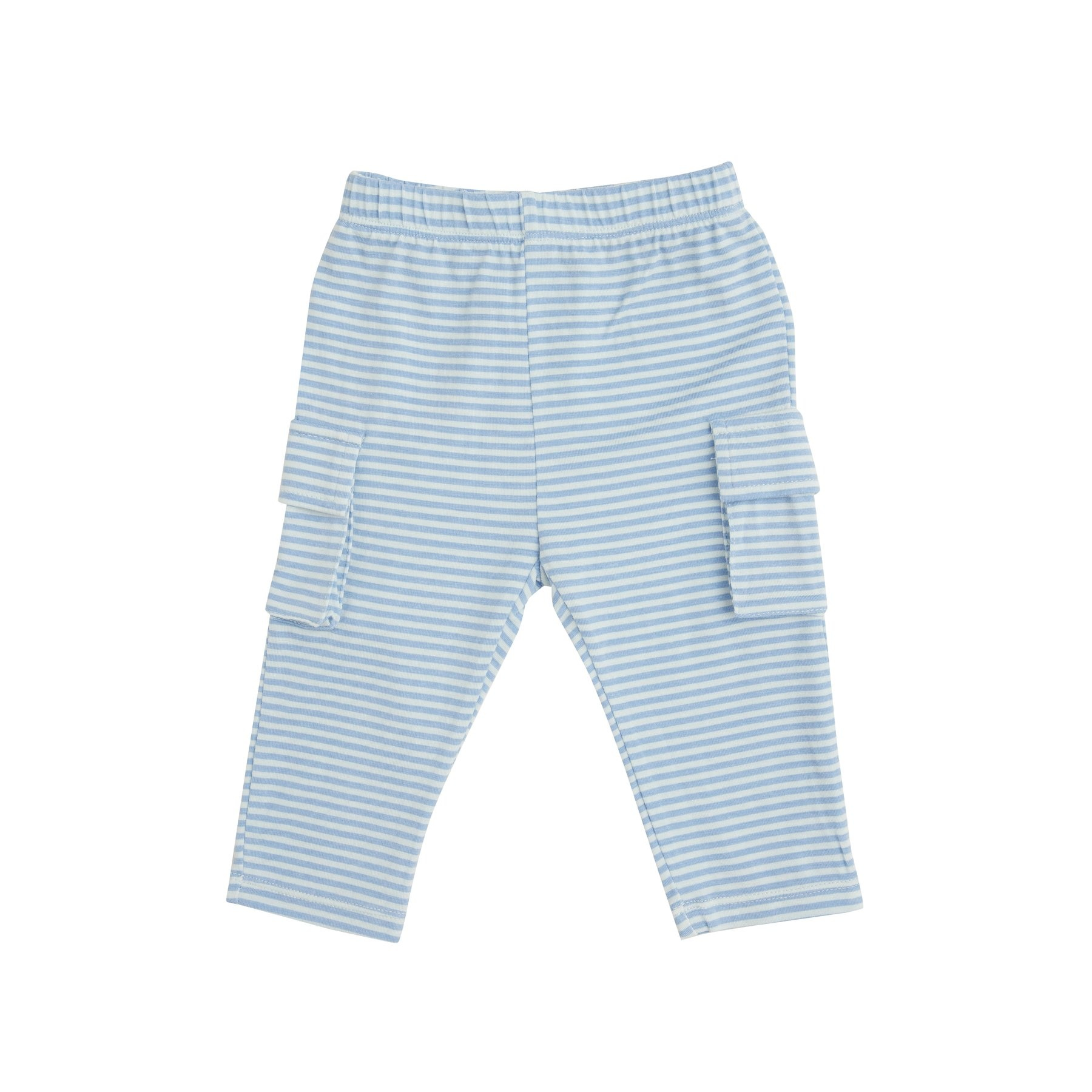 Angel Dear Construction Bamboo Polo Top and Cargo Pant Set