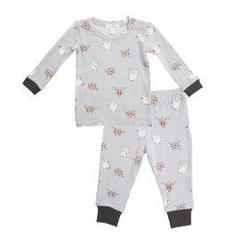Angel Dear Cookies and Milk Bamboo Loungewear Set