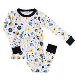 Shine Bright Hanukkah Long Sleeve Pajama Set