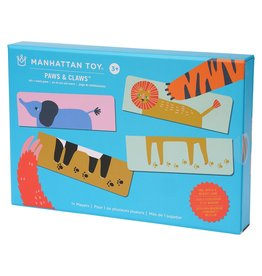 Manhattan Toys Paws & Claws Memory Match Up Game