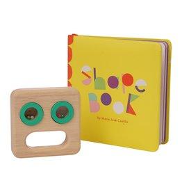 Manhattan Toys Shape Book Plus Musical Toy Set