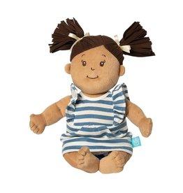 Manhattan Toys Baby Stella Beige Doll with Brown Hair