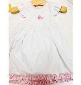 Magnolia Baby Tiny Whale Flutter Dress Set
