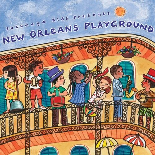 putumayo New Orleans Playground Music CD