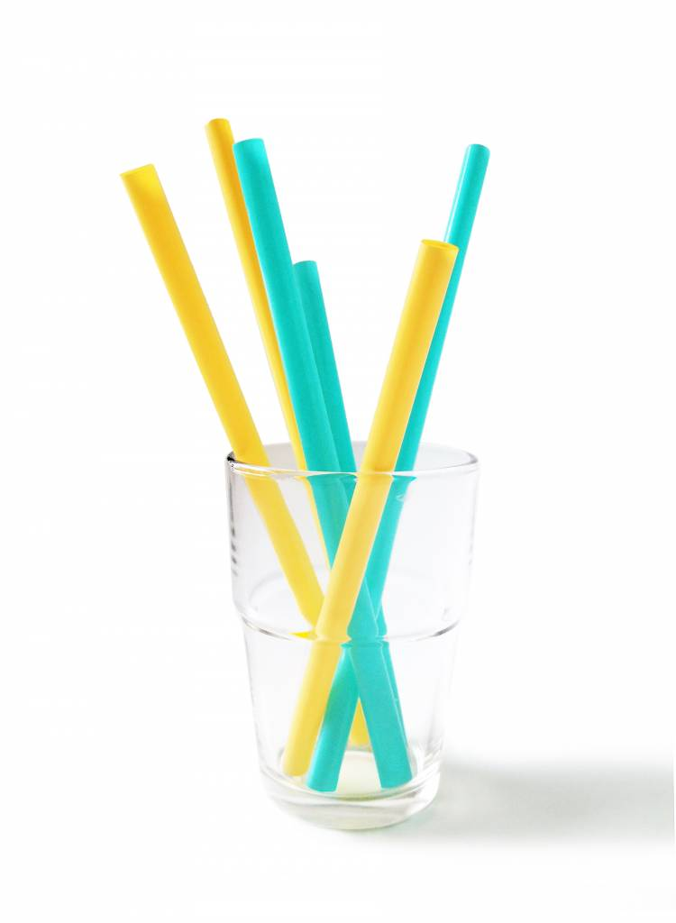 Silikids Reusable Silicone Straws 6pk