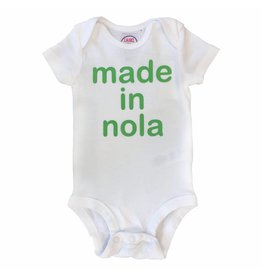 Laurel & Octavia Made in NOLA onesie