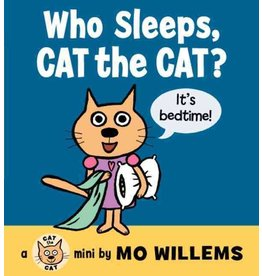 Books Who Sleeps, Cat the Cat? by Mo Willems