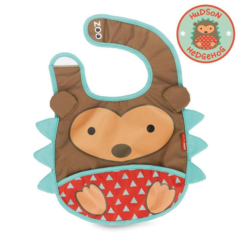 Skip Hop Catch-All Pocket Zoo Bib