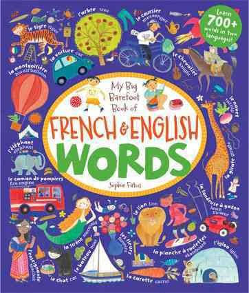 Books French & English Words