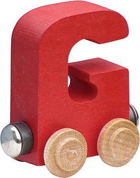 Maple Landmark Magnetic Name Trains: Letters A - H