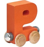 Maple Landmark Magnetic Name Trains: Letters I - P