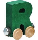 Maple Landmark Magnetic Name Trains: Letters Q - Z