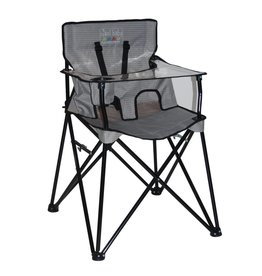 ciao! baby ciao! baby Portable Highchair in Gray Check (curbside pickup only)