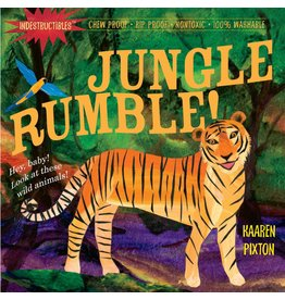 Indestructibles Baby Books Indestructibles: Jungle Rumble Board Book