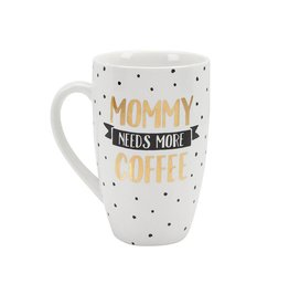 Pearhead Mommy Needs Coffee Mug