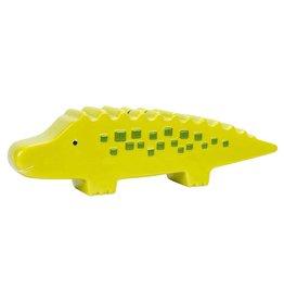 Pearhead Ceramic Alligator Bank