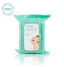 FridaBaby BreatheFrida Nose & Chest Wipes - 30pk