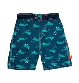 LASSIG Splash & Fun Board Shorts - Blue Whale
